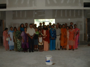 Muniji visit to Temple -Group Picture (7-23-05)
